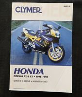 1991-98 HONDA 600 CBR600 F2 F3 MOTORCYCLE SERVICE REPAIR MAINTENANCE MANUAL NICE
