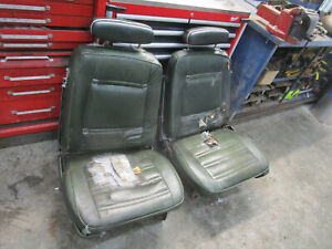 1969-1970 CHRYSLER DODGE PLYMOUTH C-BODY BUCKET SEAT PAIR WITH HEADREST