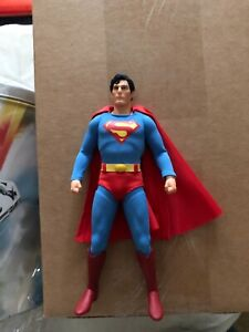 Mezco Toys Chris Reeve Superman Sealed in shipping box.