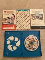 New Super Mario Bros. U (Nintendo Wii U) CIB Complete w/ Manual Tested & Working