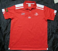Queensland Reds Super Rugby AUSTRALIA polo  jersey shirt ISC adult SIZE L