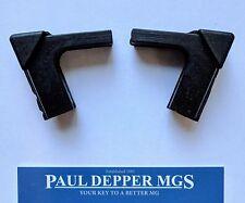 MG MGB GT Quarterlight Stop/ Rubber Block Set - 17H2530 (Chrome Q/L)