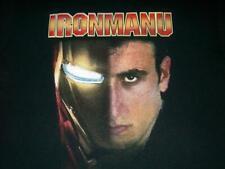 Ironmanu Manu Ginobili San Antonio SPURS NBA Black T-Shirt Men's Medium used