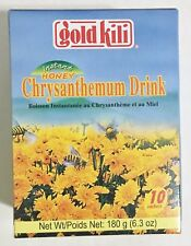 6.3oz Gold Kili Instant Honey Chrysanthemum Drink, 10 Packets