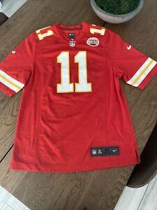 Alex Smith #11 Kansas City Chiefs Football Jersey Nike On Field Hunt Patch M