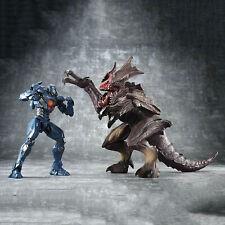 Pacific Rim Uprising Side Jaeger Gipsy Avenger & Raijin Kaiju Figures Toy Set Us