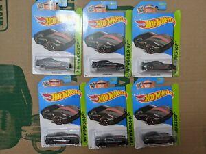 Hot Wheels Ferrari 599XX lot of 6