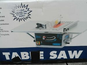 DRAPER Blades 254mm 1500W 230V New Table Saw + used stand