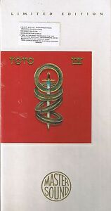 Toto IV Mastersound Gold CD SBM  Longbox Neu OVP Sealed CK 57188