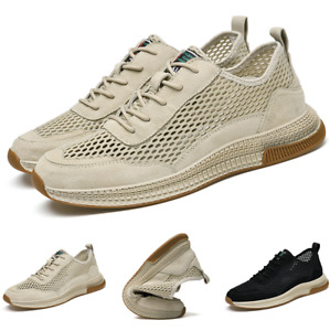 Mens Outdoor Running Sports Gym Breathable Jogging Casual Fashion Sneakers Shoes
