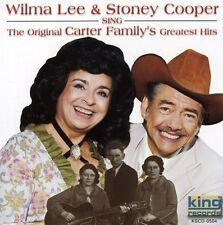 Wilma Lee & Stoney C - Sing the Original Carter Family's Greatest Hits [New CD]