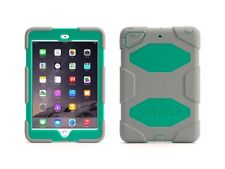 Griffin Survivor iPad Mini 1/2/3 Case and Stand with Touch ID (Grey/Green)