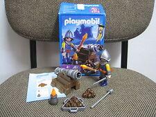Playmobil - Medieval - Caballero Soldado Leon con Cañon - 3316 - (COMPLETO) OVP