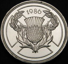 GREAT BRITAIN 2 Pounds 1986 - Silver - Commonwealth Games - UNC - 297 ¤