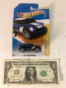 Hot Wheels Blue Metallic #1 Mini Cooper Mini Challenge - New Models #30 - 2010