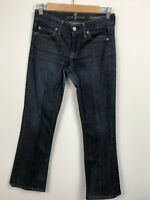 Seven 7 For All Mankind Jeans Womens Size 25 Bootcut Dark Wash