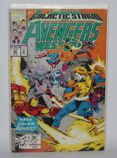 Avengers West Coast #80, March 1992 - Marvel Comics