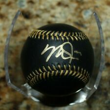 MIKE TROUT CUBED ANGELS SIGNED AUTOGRAPHED AUTHENTICATED BLACK MLB BASEBALL COA