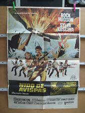 2267      NIDO DE AVISPAS ROCK HUDSON SYLVA KOSCINA PHIL KARLSON
