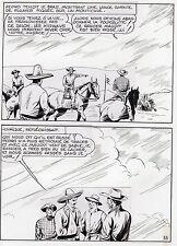 "MELLIES ""LE CIRQUE DU DIABLE"" PLANCHE ORIGINALE TEX BILL ARTIMA PAGE 55"