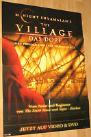 The Village - Das Dorf Filmplakat / Poster A1 ca.60x84cm