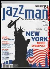 JAZZMAN #154 : New York,Baptiste Trotignon, Jason Moran