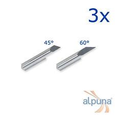 3 Plottermesser für Ioline 45° - ALPUNA Qualitätsmesser