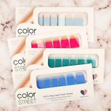 Color Street Nail Polish Strips 100% -16 Long lasting Strips Buy More To Save!