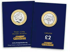 2019 £2 COIN GIBRALTAR BREAST CANCER SUPPORT TWO POUNDS ONLY 1000 MINTED