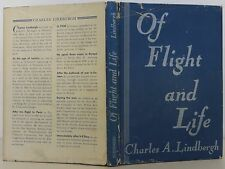 CHARLES A. LINDBERGH Of Flight and Life INSCIRBED FIRST EDITION