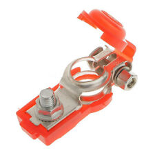 2x Adjustable Battery Terminal Clamp Clips Negative Positive for Car Truck  EC