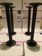 """3/4""""x12"""" Deep DIY Industrial Pipe Table Legs,Perfect For Coffee,metal Tables"""