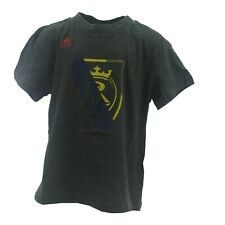 Real Salt Lake Official MLS Adidas Apparel Youth Kids Size T-Shirt New W Tags