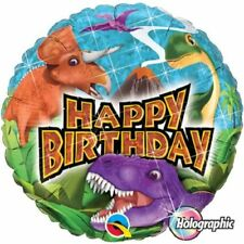 Artículos de fiesta color principal multicolor de dinosaurios