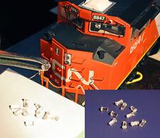PARTS 10 Headlight Lens Glazing replacements ATHEARN GENESIS etc locomotives