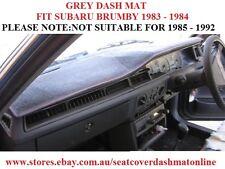 DASH MAT, DASHMAT, DASHBOARD COVER FIT SUBARU BRUMBY 1983-1984 ONLY, GREY