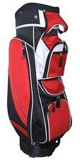 Tartan Golf MX14 Golf Bag, Black & Red ~ Brand New in Box