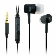 Écouteurs intra auriculaire microphone mains libres Noir per iphone samsung sony
