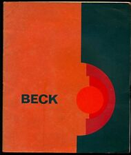 Gerlinde Beck. Skulpturen Grafik. Catalogo, Duisburg 1969