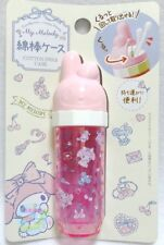 New!  SANRIO MY MELODY KAWAII Cotton Swab Case Carrying Cosmetic Beauty JAPAN