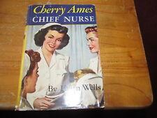 Cherry Ames Chief Nurse VINTAGE BOOK 1944