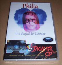 NEW Atari Jaguar games console Philia the sequel to Elansar CD Game BOXED sealed