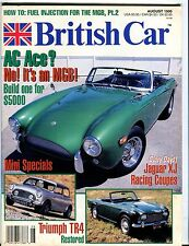 British Car Magazine August 1995 EX MGB No ML 051917nonjhe