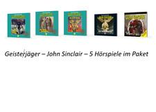 ?  5 CDs Geisterjäger John Sinclair - Hörbücher Paket Sammlung Tonstudio Braun
