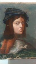 Old portrait. Ancien portrait 18 - 19TH CENTURY