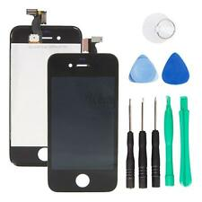 LCD Touch Assembly Digitizer Lens Screen for iPhone 4 A1332 with 8 Tools Black