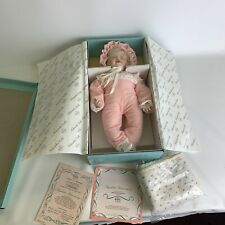 Knowles Elizabeth's Homecoming Doll Newborn Baby Book Treasures New in Open Box
