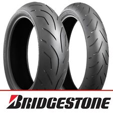 Bridgestone S20 EVO Motorcycle Sports Tyres Pair Deal 120/70 ZR17 & 190/50/ZR17