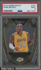 2014 Panini Select #101 Kobe Bryant Los Angeles Lakers PSA 9 MINT