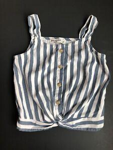 Girl's Abercrombie Kids size 7/8 striped tank top shirt 7 8